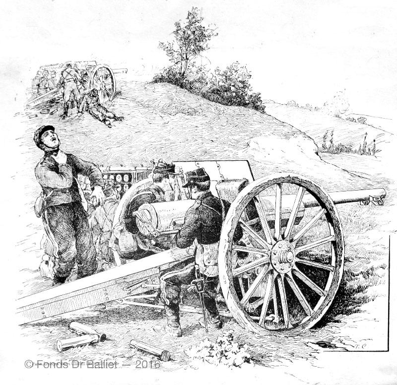 Certificat bonne conduite artillerie [1909]